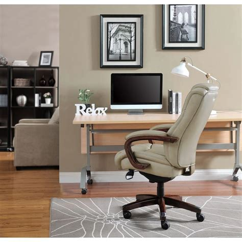 la z boy desk chair office depot la z boy miramar taupe bonded leather executive office