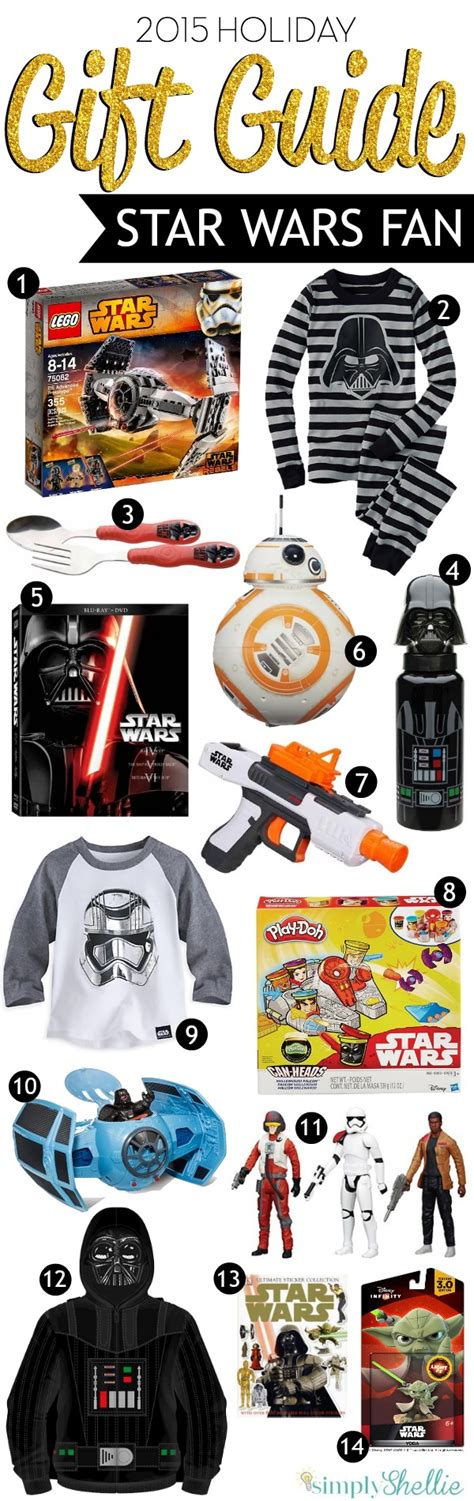 gift ideas for star wars fans gifts for the star wars fan