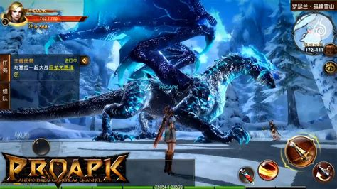 android mmorpg aura kingdom mobile gameplay android ios open world mmorpg kr proapk android ios