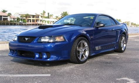 blue saleen mustang sonic blue 2003 saleen s281 ford mustang coupe