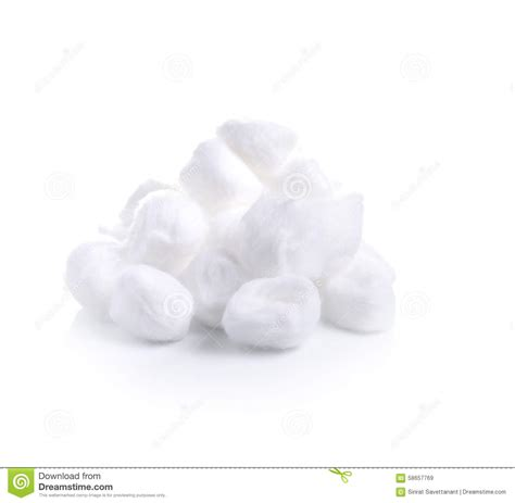clean white cotton cotton wool on a white background stock image image of