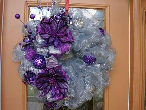 pics of purple and yellow mesh wreaths best 25 purple wreath ideas on pinterest wreaths door