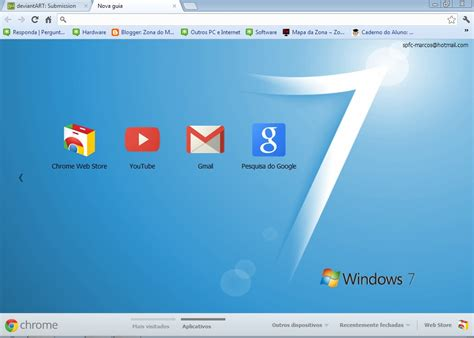 Google Themes Download For Windows 7 | windows 7 vista basic theme v2 for google chrome by