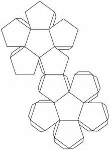 dodecahedron template mimi s creative week before half term