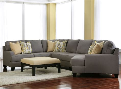 ashley furniture grey sectional ashley furniture chamberly alloy 24302 cuddle corner