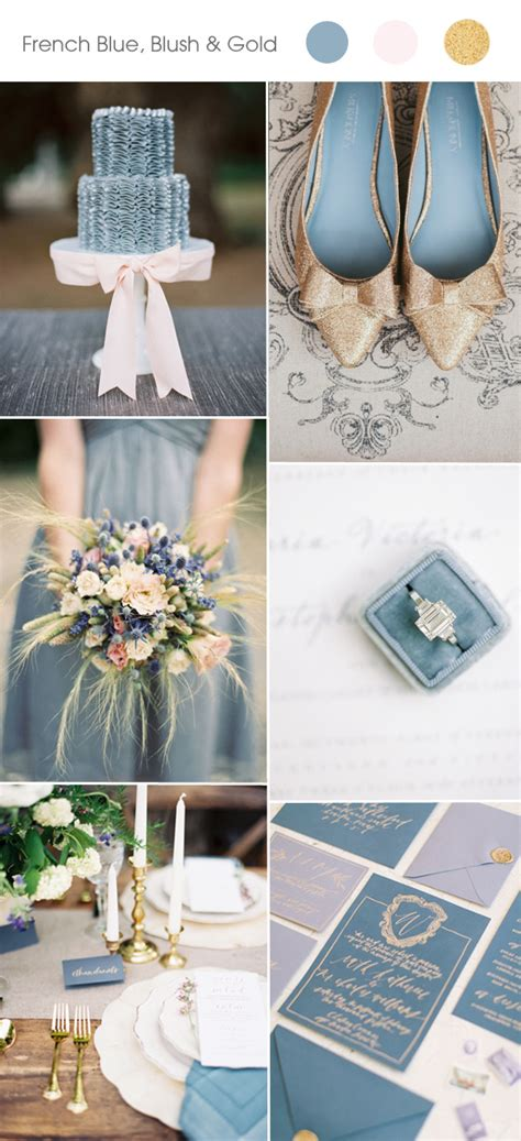 top 5 and summer wedding color ideas 2017