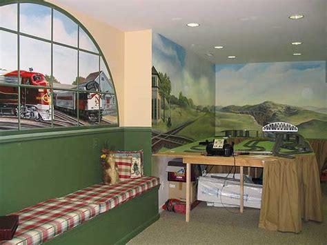 Train Wall Mural hands of david