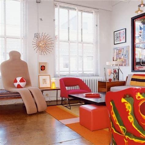décoration appartement année 60