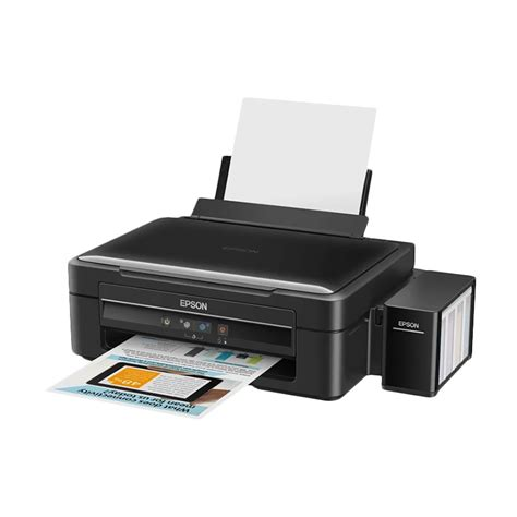 Printer Epson L360 Baru jual epson l360 hitam printer print scan copy