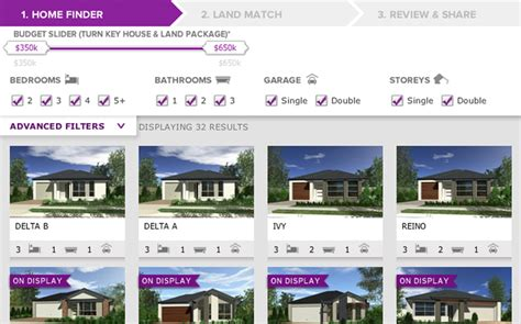 mirvac homes floor plans mirvac home finder e commerce website development