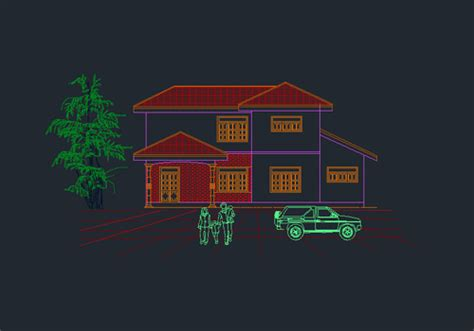 autocad house plans free story house plan free dwg net cad