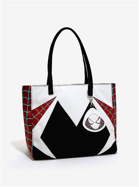 7 Accessories By Loungefly by Loungefly Marvel Spider Gwen Tote Universe