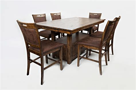 high table and chair set jofran cannon valley high low table and chair set great