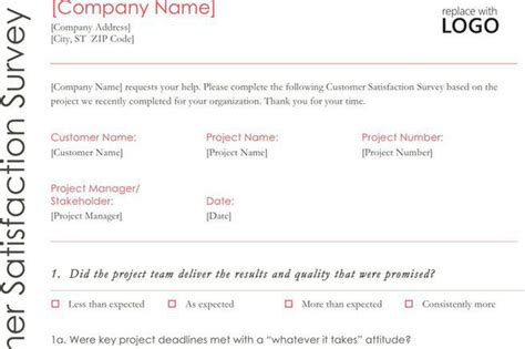 survey template download free amp premium templates forms