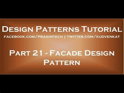 design pattern kudvenkat facade design pattern youtube