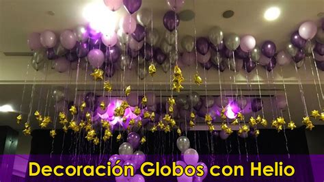 decoracion globos  helio decoracion  fiestas