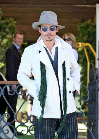 M K Takes Style Cues From Johnny Depp by Johnny Depp Takes Fashion Cues From Idol S