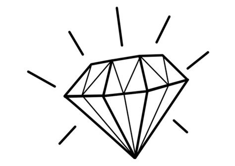 free diamond coloring pages