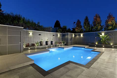 home design ideas with pool landscape lighting ideas gorgeous lighting to accentuate