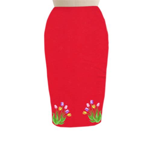 embroidered pencil skirt elizabeth s custom skirts