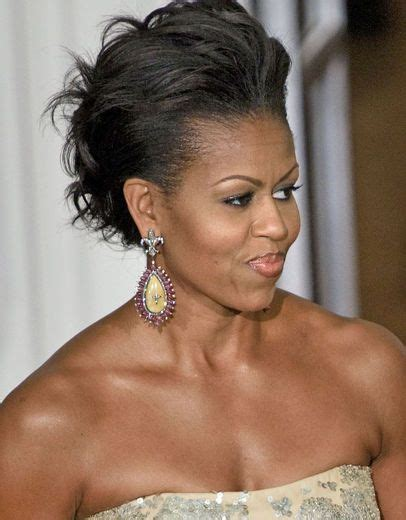 ms obama hair michelle obama s most glamourous updos
