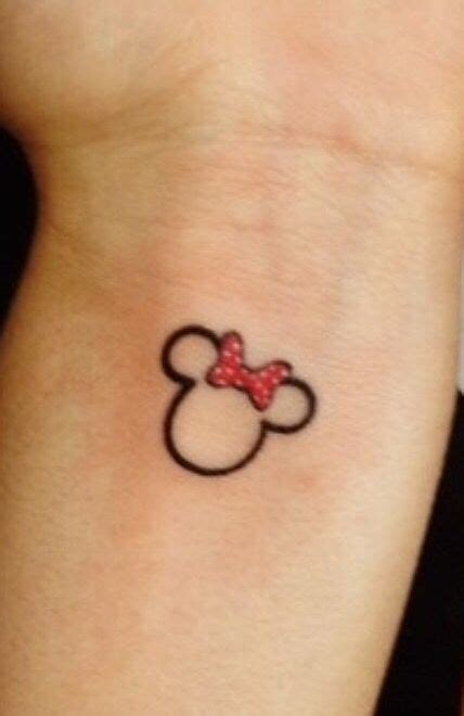minnie and mickey tattoos 1000 ideas about minnie on disney