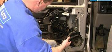 how to repair or replace a power window motor for a chevy