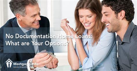 No Documentation Home Loan