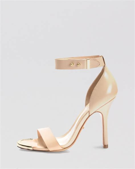 open toe sandal heels pour la victoire open toe ankle sandals yaya high