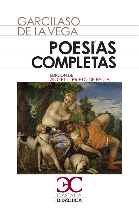 poesias castellanas completas ficha libro castalia