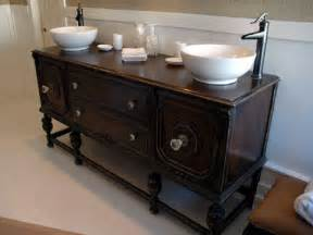 antique dressers turned into vanities nomadic