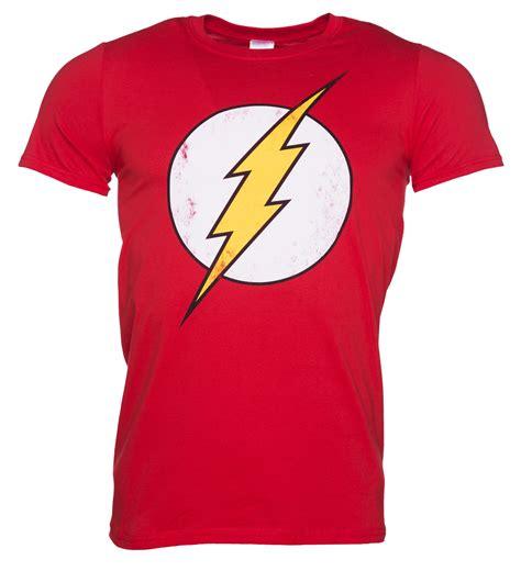 Logo The Mens T Shirt by S Distressed Dc Comics Flash Logo T Shirt