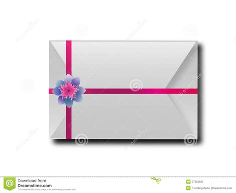 design envelope meaning the envelopes with colorful ribbons for the meaning of
