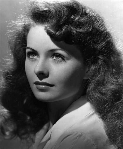 famous actresses of the 40s dazzling divas jeanne crain