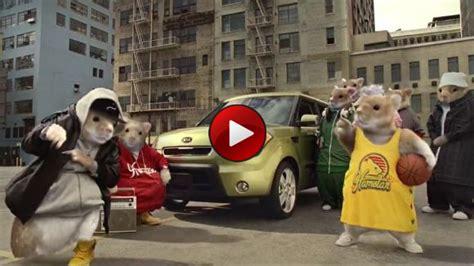 Kia Soul Hamster Ad διαφήμιση Kia Soul Rapper τρωκτικά Autoblog Gr