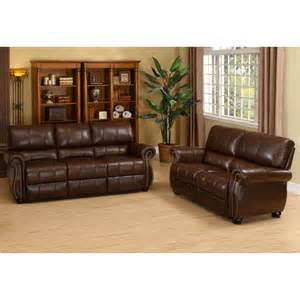 Leather Sofa And Loveseat Set Houston Italian Leather Sofa Loveseat And Armchair Set Wayfair