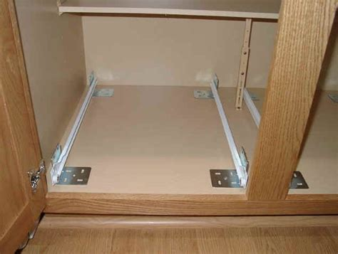 drawer slides for kitchen cabinets 25 best ideas about pull out shelves on pinterest small