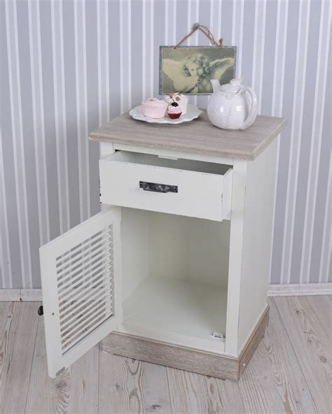 kommode shabby chic bedside table bedside table shabby chic