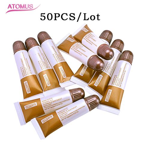 oem permanent makeup eyebrow tattoo aftercare cream repair 50 pcs permanent makeup repair gel tattoo nursing ointment