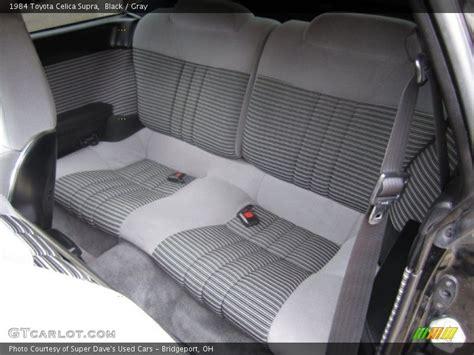 toyota supra seats rear seat of 1984 celica supra photo no 68528956