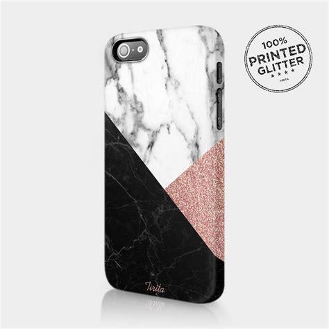 tirita rose gold marble glitter cute phone case hard cover