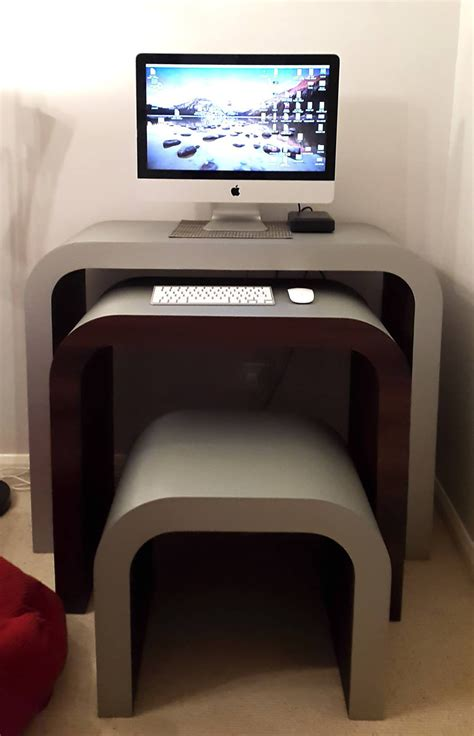 Computer Desks For Imac Imac Nesting Computer Desk Customise It Zespoke