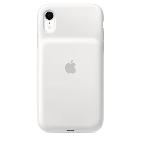 iphone xr smart battery white apple