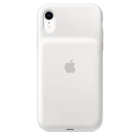 funda smart battery para el iphone xr blanco apple es
