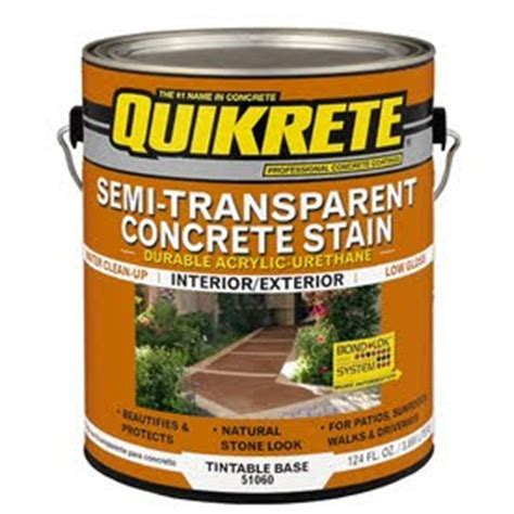 Concrete Staining: Using Quikrete For Your Concrete