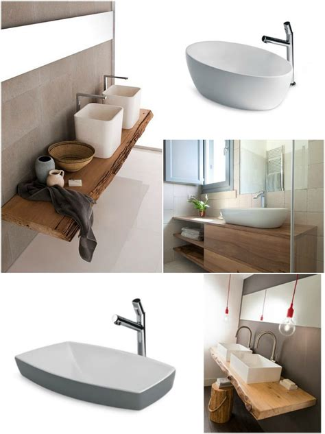 mensola legno per lavabo da appoggio mobili bagno per lavabo da appoggio duylinh for