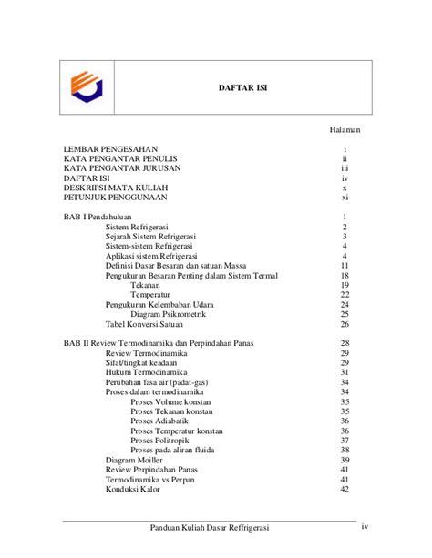 Pengantar Statistika Ii Panduan Bagi Pengajar Dan Mahasiswa Buku So bahan ajar refrigerasi dasar