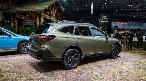 2020 Subaru Outback Turbo 2020 subaru outback debuts with available turbo power