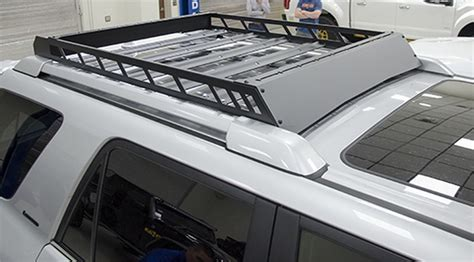 Using Roof Racks by Buy N Fab T102mrf Aluminum Modular Roof Rack Fits 10 16