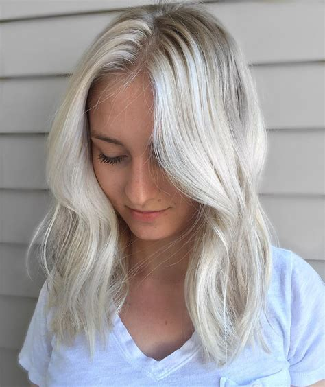 silvery blonde hair dye 24 best hair colors for spring summer season 2016